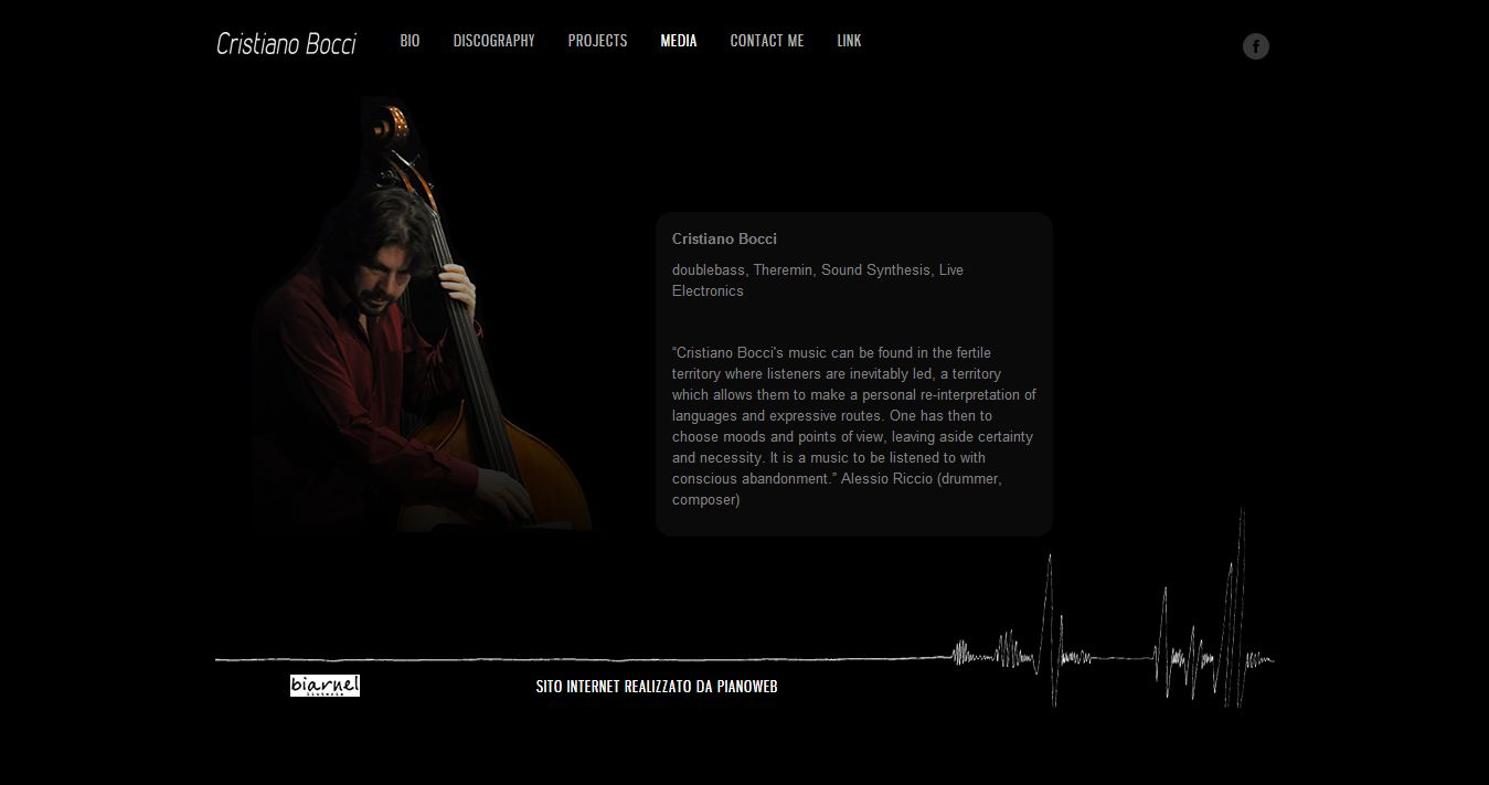 Sito web di Cristiano Bocci