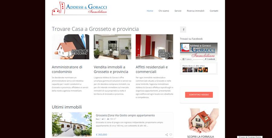Sito web di Casa Grosseto - Addessi e Goracci