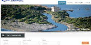 immagine del sito web dello studio immobiliare