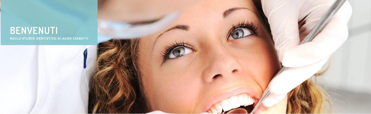 Sito web dello Studio Dentistico Aldo Ciabatti