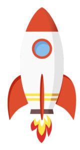 missile, metafora della rapidità di realizzazione siti web