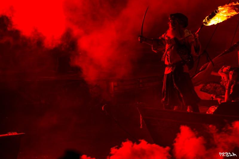 la notte dei pirati - sbarco