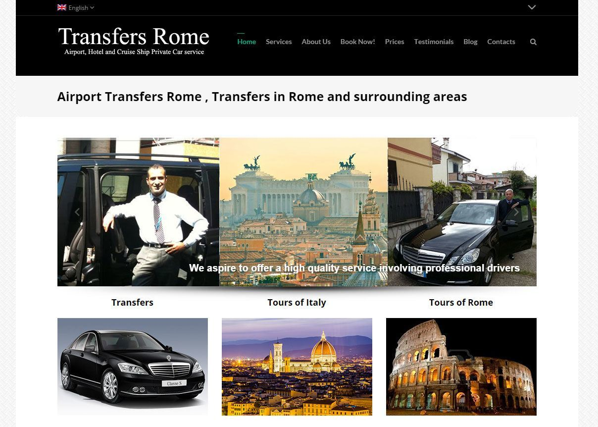 Home del sito Rome City Transfers