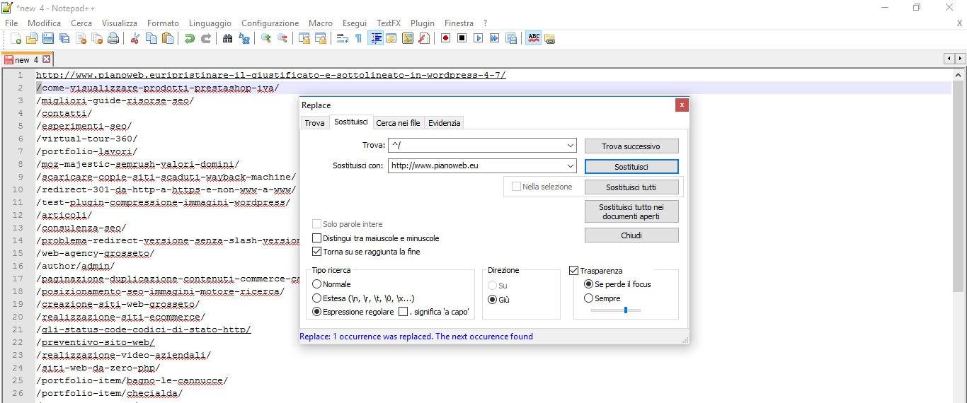 Trovare ed elencare le pagine web che non hanno traffico for Sito web design piano piano