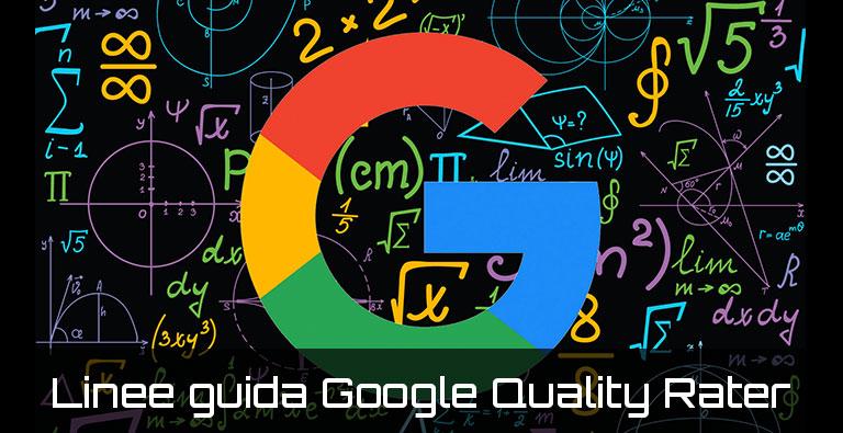 linne guida di google quality rater